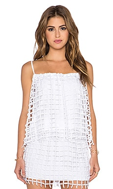 MERRITT CHARLES Adelia Top in White