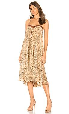 Купить Платье siam - Mes Demoiselles коричневого цвета