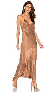 Mes Demoiselles Satine Maxi Dress in Nude