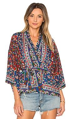 Gitane Kimono en Imprimé Gypsy