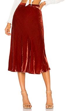 Martina Velvet Skirt Mes Demoiselles $270 NEW ARRIVAL