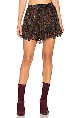 Katia Mini Skirt in Psyche Print