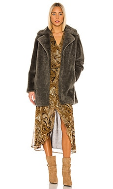 Merinos Shearling Coat Yves Salomon - Meteo $1,480