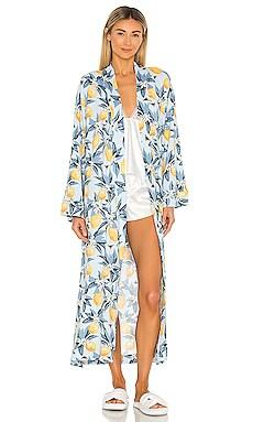 Kimono Pockets Robe MASONgrey $128