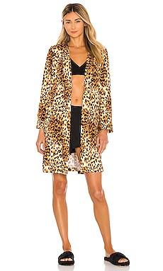 Classic Short Robe MASONgrey $62