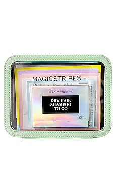 ENSEMBLE CADEAU TRAVELBAG MAGICSTRIPES $120