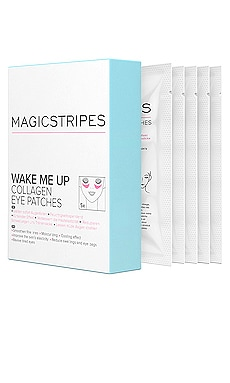 Wake Me Up Collagen Eye Patches Box MAGICSTRIPES $45 BEST SELLER