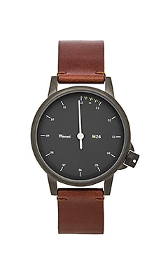 M24 Noir On All Leather Watch
