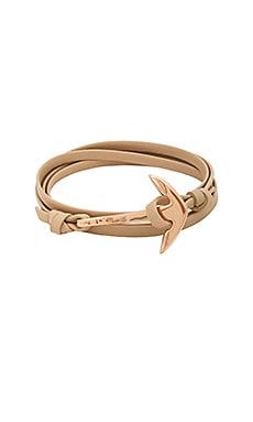 x REVOLVE Leather Anchor Bracelet