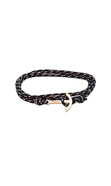 Mini Modern Anchor Bracelet in Midnight