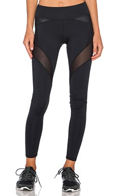 MICHI by Michelle Watson Illusion Legging in Black