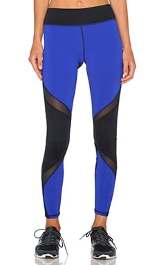 MICHI by Michelle Watson Supernova Legging in Bright Indigo & Black