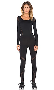 MICHI Panthea Bodysuit in Black