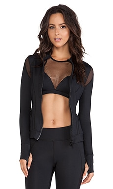 MICHI Illusion Jacket in Black