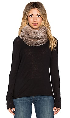 Michael Stars Faux Fur Cowl in Chantilly