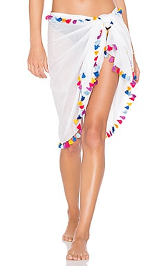 Silky Solid Sarong Michael Stars $58 BEST SELLER