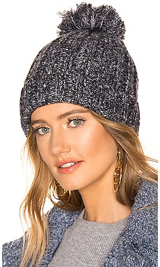 Poms Away Beanie Michael Stars $32