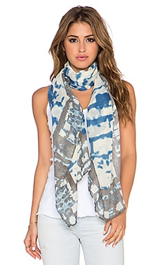 Michael Stars Urban Canvas Scarf in Azul