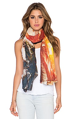 Michael Stars California Sun Wrap Scarf in Flare