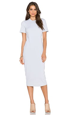 Michael Stars Short Sleeve Crew Neck Maxi Dress in Crescent