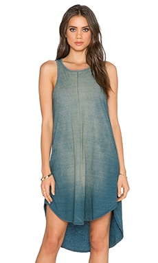 Michael Stars Crew Tank Dress in Vintage Wash