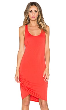 Michael Stars Scoop Neck Wrap Dress in Samba