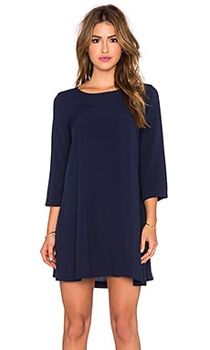 3/4 Sleeve Mini Dress in Nocturnal