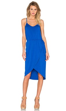 Cami Wrap Dress in Cobalt