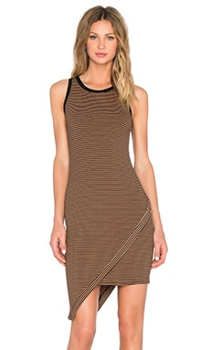 Crew Neck Tank Dress in Mojave