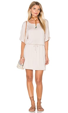 Michael Stars Cayleigh Dress in Stone