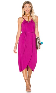 Alina Dress in Bougainvillea