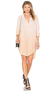 Shirt Dress in Amber Light Ombre