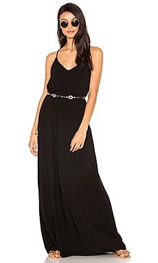 Maxi Slip Dress in Black