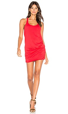 Scoop Dress in Blaze