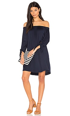 Tie Sleeve Dress in Nocturnal