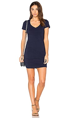 Ruched Mini Dress in Nocturnal