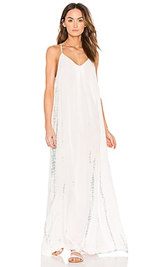 Naomi Maxi Dress in Barely Pink