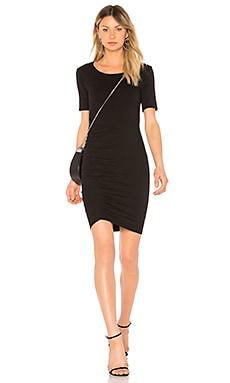 Купить Платье scoop neck - Michael Stars черного цвета