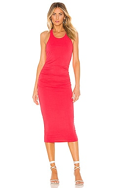 Racer Back Midi Dress Michael Stars $88 BEST SELLER