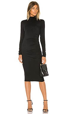 Mock Neck Midi Dress Michael Stars $128