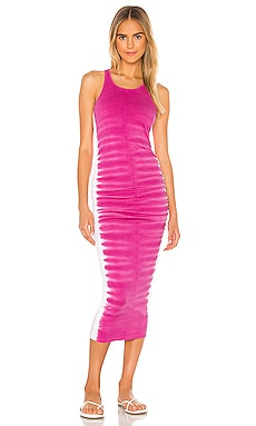 Flame Wash Midi Dress Michael Stars $108