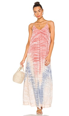 ROBE MAXI HAZE Michael Stars $49 (SOLDES ULTIMES)