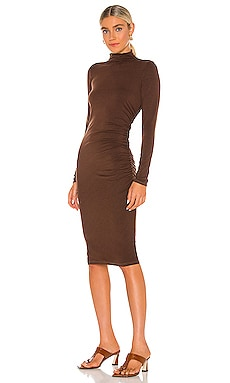 Mock Neck Midi Dress Michael Stars $116