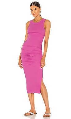 Wren Midi Dress With Slit Michael Stars $98
