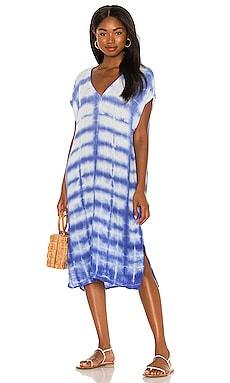 Louie V-Neck Dress Michael Stars $101