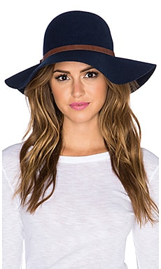 Michael Stars Uptown Floppy Hat in Nocturnal