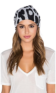 Michael Stars Big Cat Slouch Beanie in Black