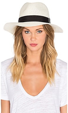 Michael Stars Corfu Wide Brim Hat in Chalk