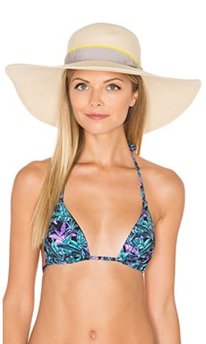 Michael Stars Made in the Shade Floppy Hat in Chalk