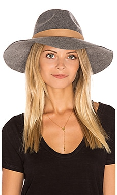 Midnight Ride Wide Brim Hat in Heather Galvanized